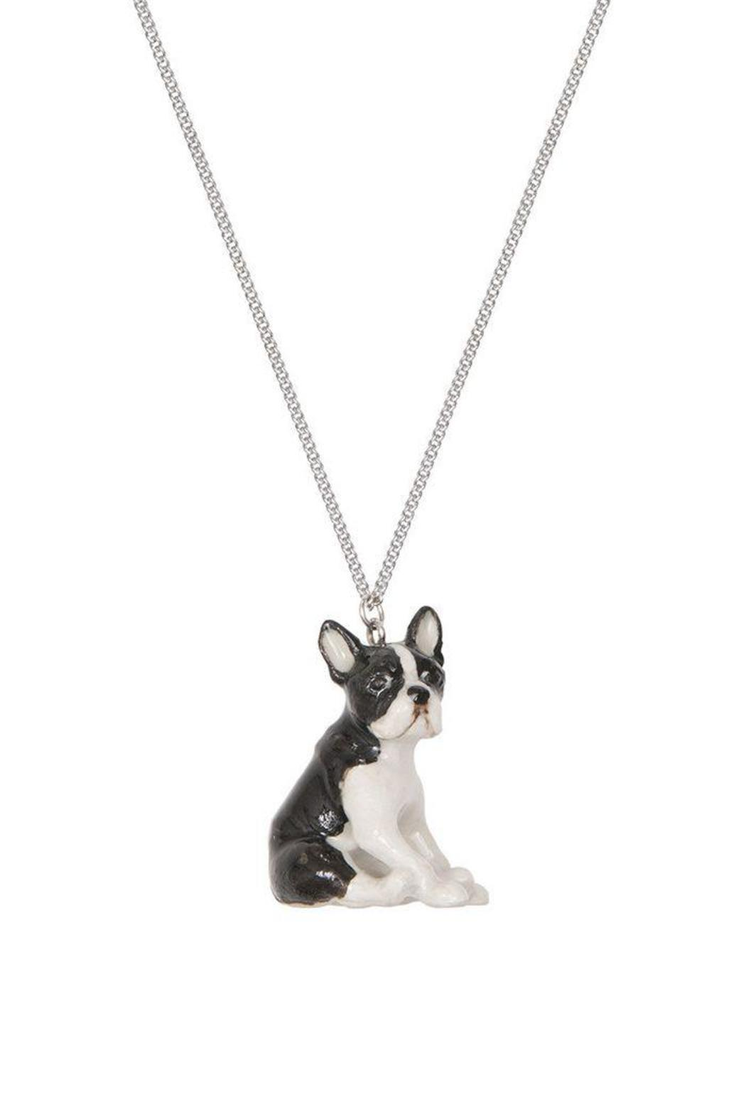 Pink Poodle Boutique Boston Terrier Necklace - Main Image