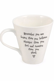 Pink Poodle Boutique Braver Message Mug - Front cropped