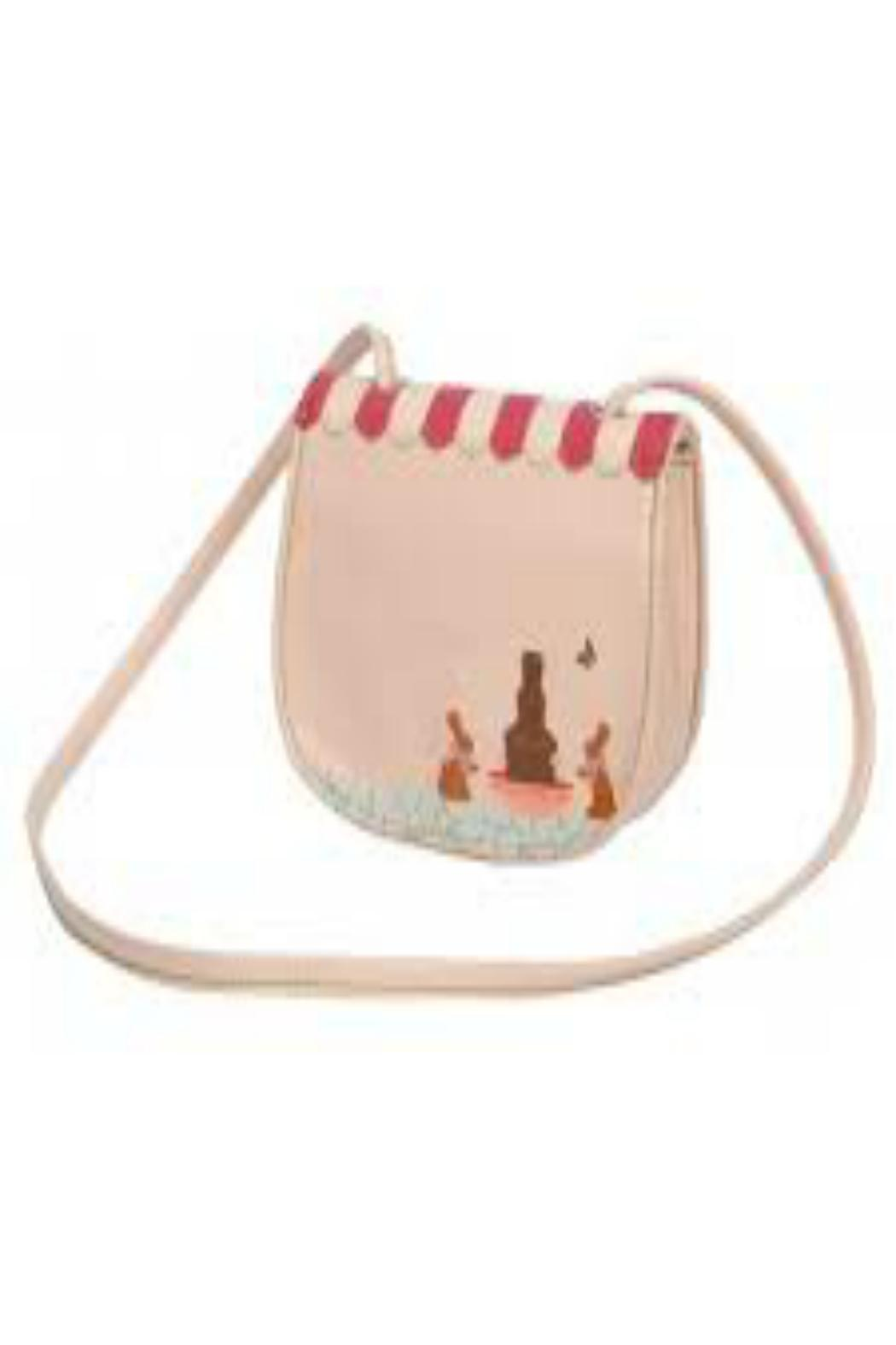 Pink Poodle Boutique Chocolatier Crossbody Bag - Front Full Image