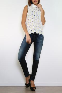 Shoptiques Product: Daisy Collar Top
