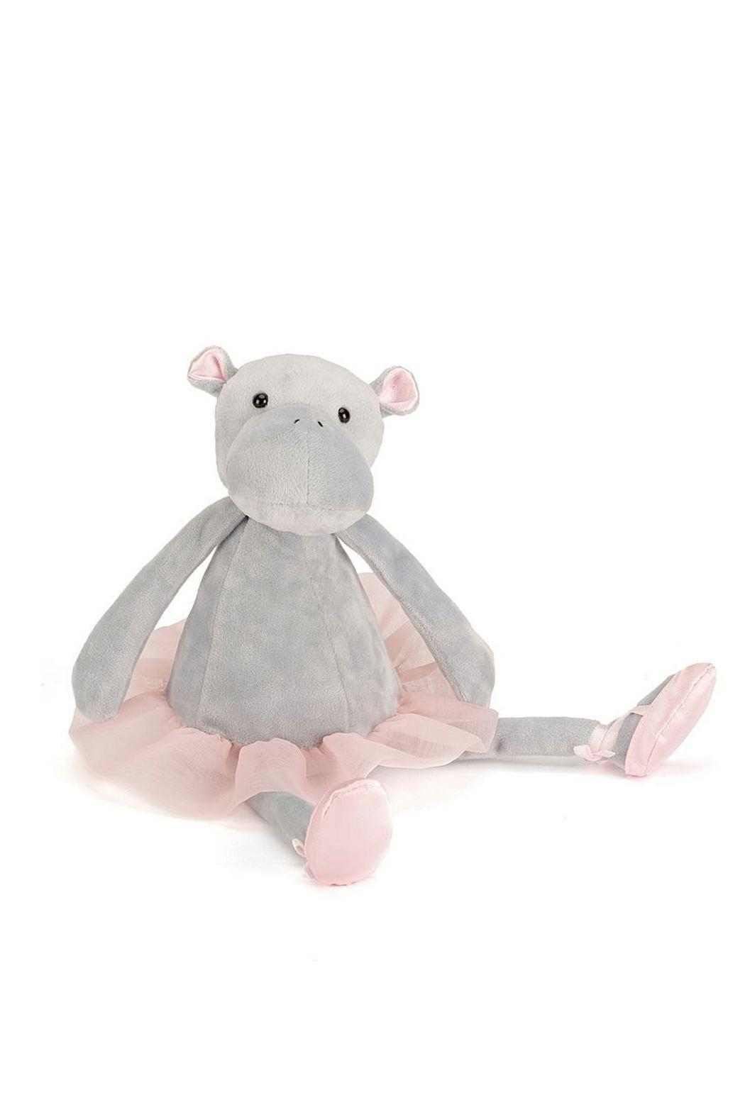 Pink Poodle Boutique Dancing Hippo Toy - Main Image