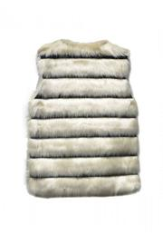 Pink Poodle Boutique Faux Fur Vest - Front full body