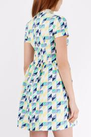 Pink Poodle Boutique Geometric Laced Dress - Side cropped