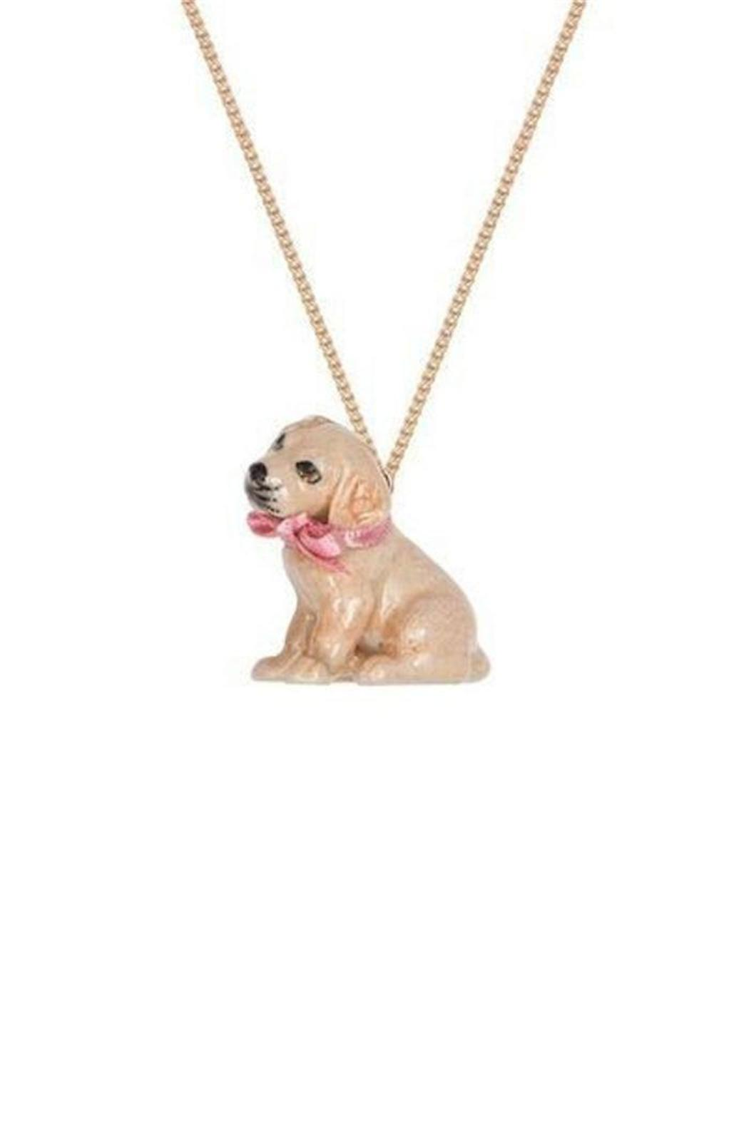 Pink Poodle Boutique Golden Labrador Necklace - Main Image