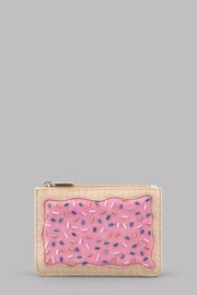 Pink Poodle Boutique Pastry Biscuit Purse - Front cropped