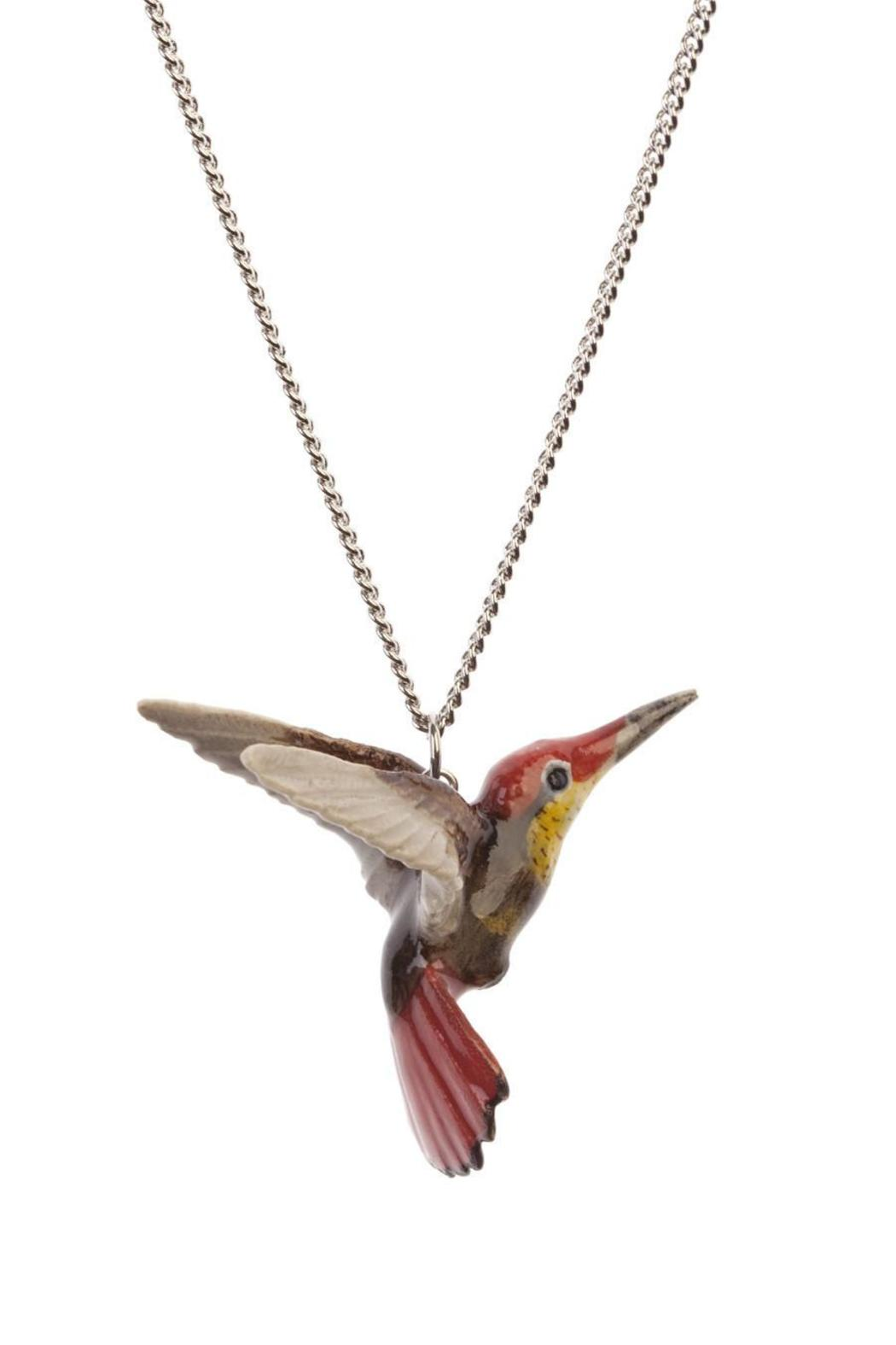 co australia hummingbird cotton by bowerbird aus necklace silver and sterling origami long