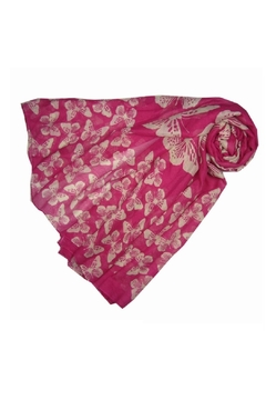 Pink Poodle Boutique Scatter Butterfly Scarf - Alternate List Image