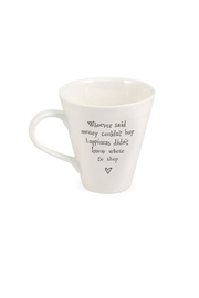 Pink Poodle Boutique Shop Message Mug - Front cropped
