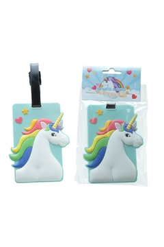 Pink Poodle Boutique Unicorn Luggage Tag - Alternate List Image