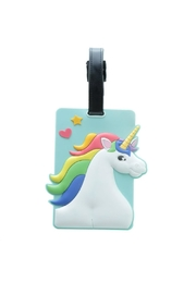 Pink Poodle Boutique Unicorn Luggage Tag - Product Mini Image
