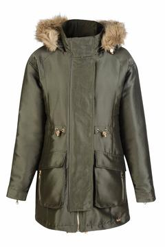 Pink Poodle Boutique Zaffa Luxe Parka - Alternate List Image