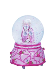 Pink Poppy Ballet Shoes Snowglobe - Product Mini Image