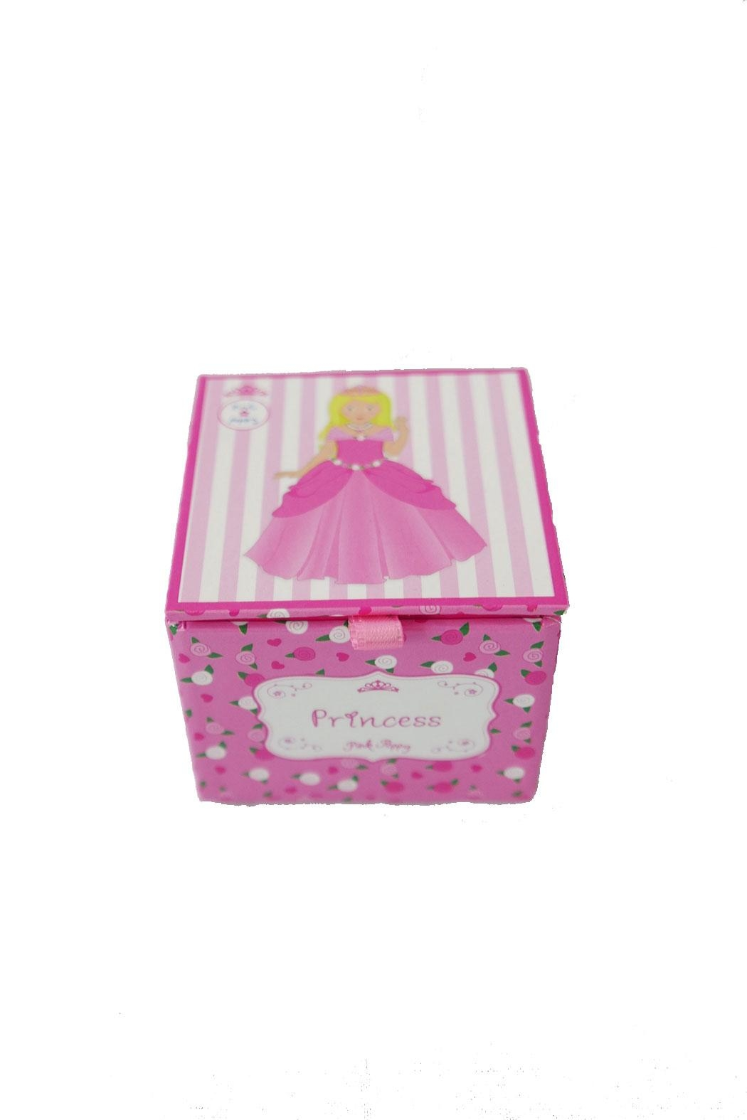 Pink Poppy Princess Musical Box - Main Image