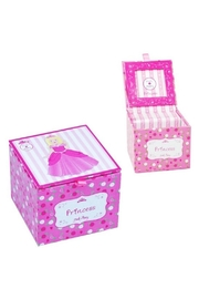 Pink Poppy Princess Musical Box - Front cropped