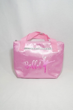 Pink Poppy Satin Ballet Tote - Product List Image