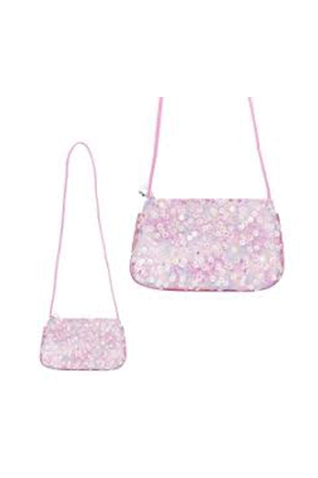 ef8a56ccadee3 Pink Poppy Sequin Shoulder Bag from Massachusetts by Sugar Plums ...