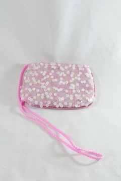 Pink Poppy Sequin Shoulder Bag - Alternate List Image
