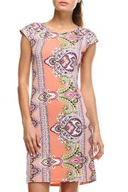 Jean Pierre Pinkadelic Pattern Dress - Product Mini Image