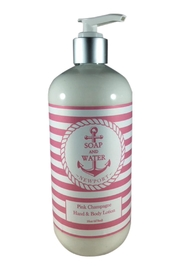 Soap and Water Newport Pinkchampagne Hand/body Lotion - Product Mini Image