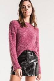 Black Swan Pinkish Eyelash Sweater - Product Mini Image