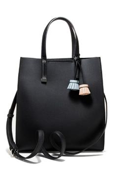 Shoptiques Product: Black Tassel Tote
