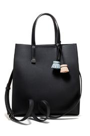 Pinkstix Black Tassel Tote - Product Mini Image
