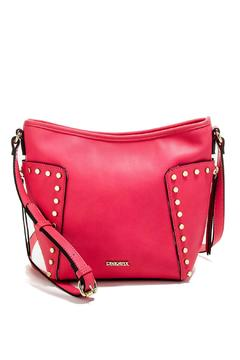 Shoptiques Product: Raspberry Studded Crossbody