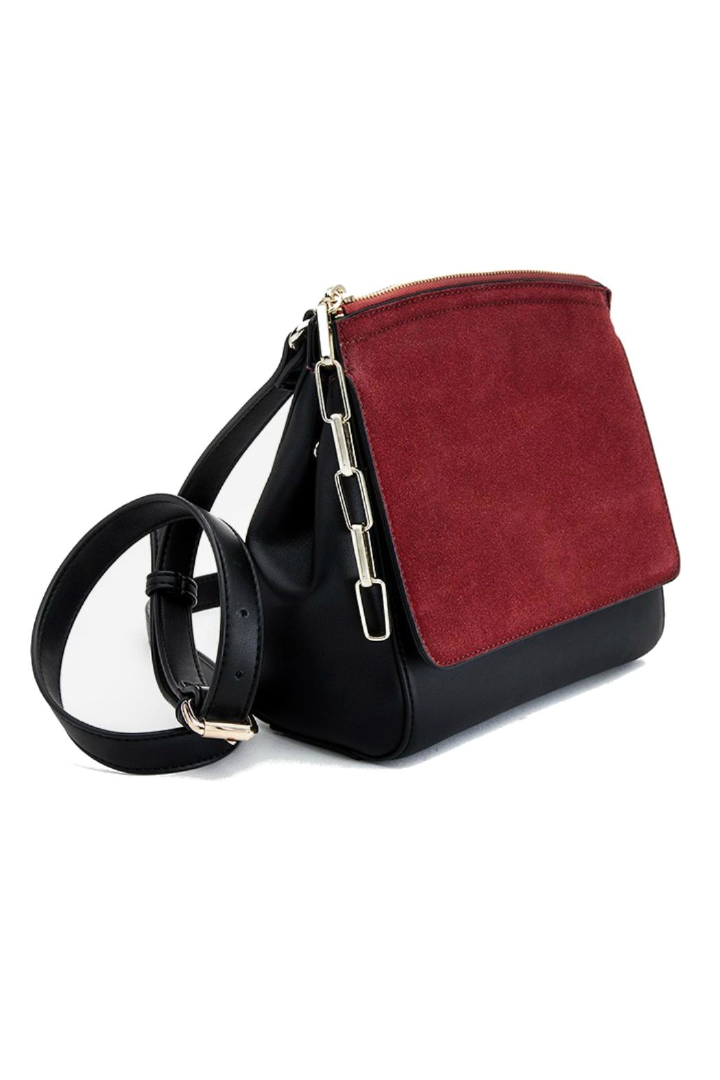 Pinkstix Red Front Crossbody Bag - Front Full Image