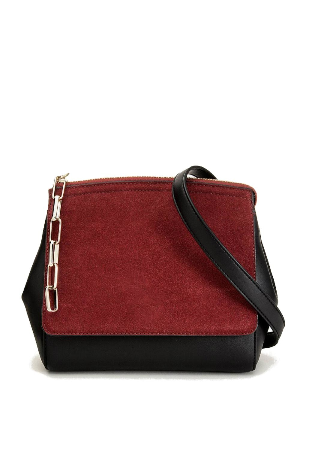 Pinkstix Red Front Crossbody Bag - Front Cropped Image