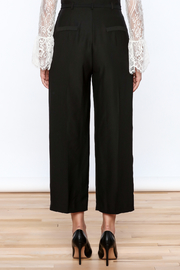 Pinkyotto Classy Black Pants - Back cropped