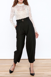 Pinkyotto Classy Black Pants - Side cropped