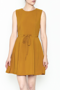 Shoptiques Product: Waisted Flare Dress