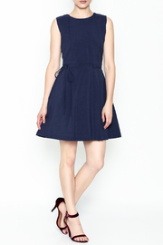 Pinkyotto Waisted Flare Dress - Side cropped