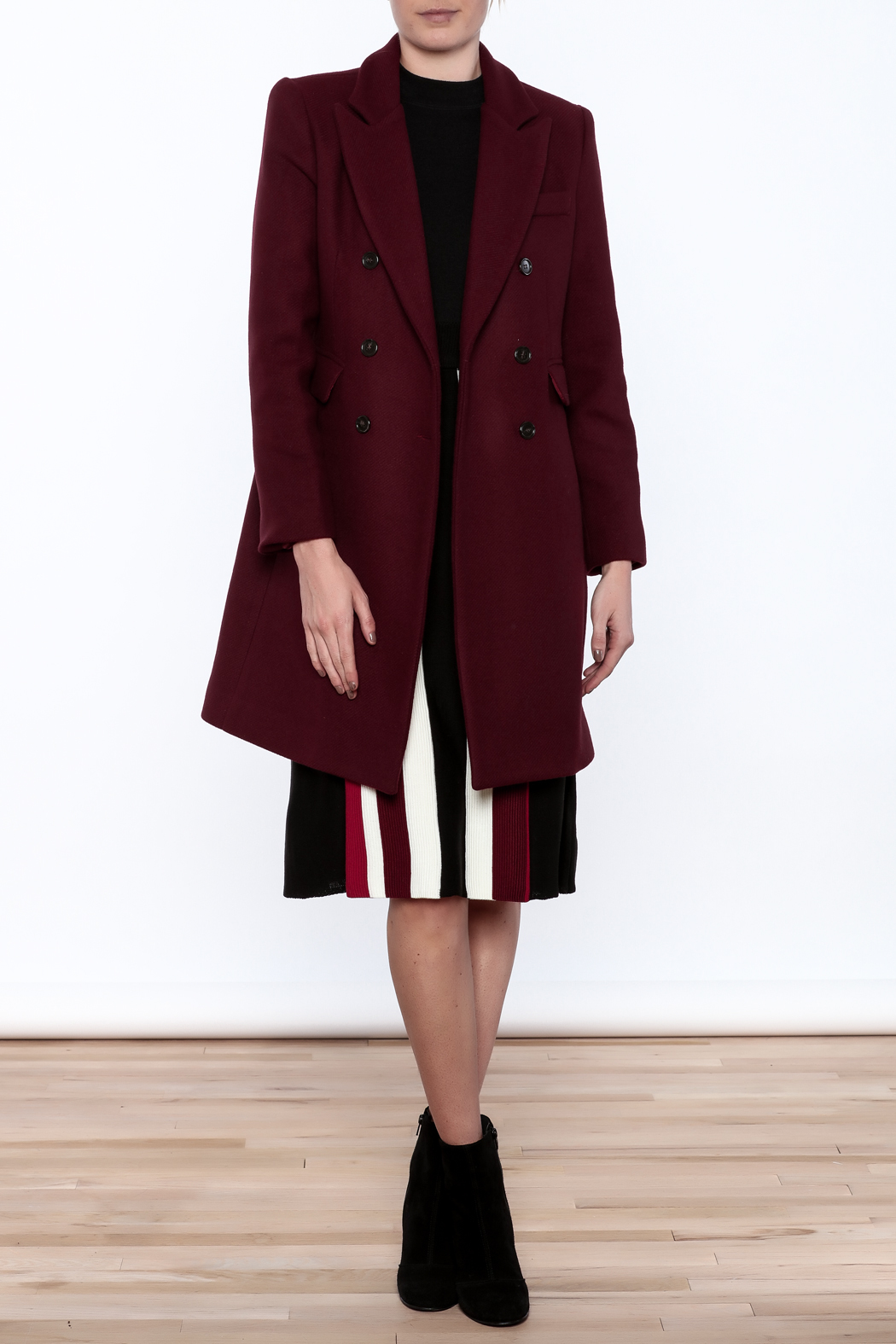 Pinkyotto Adele Coat - Front Full Image
