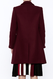 Shoptiques Product: Adele Coat - Back cropped