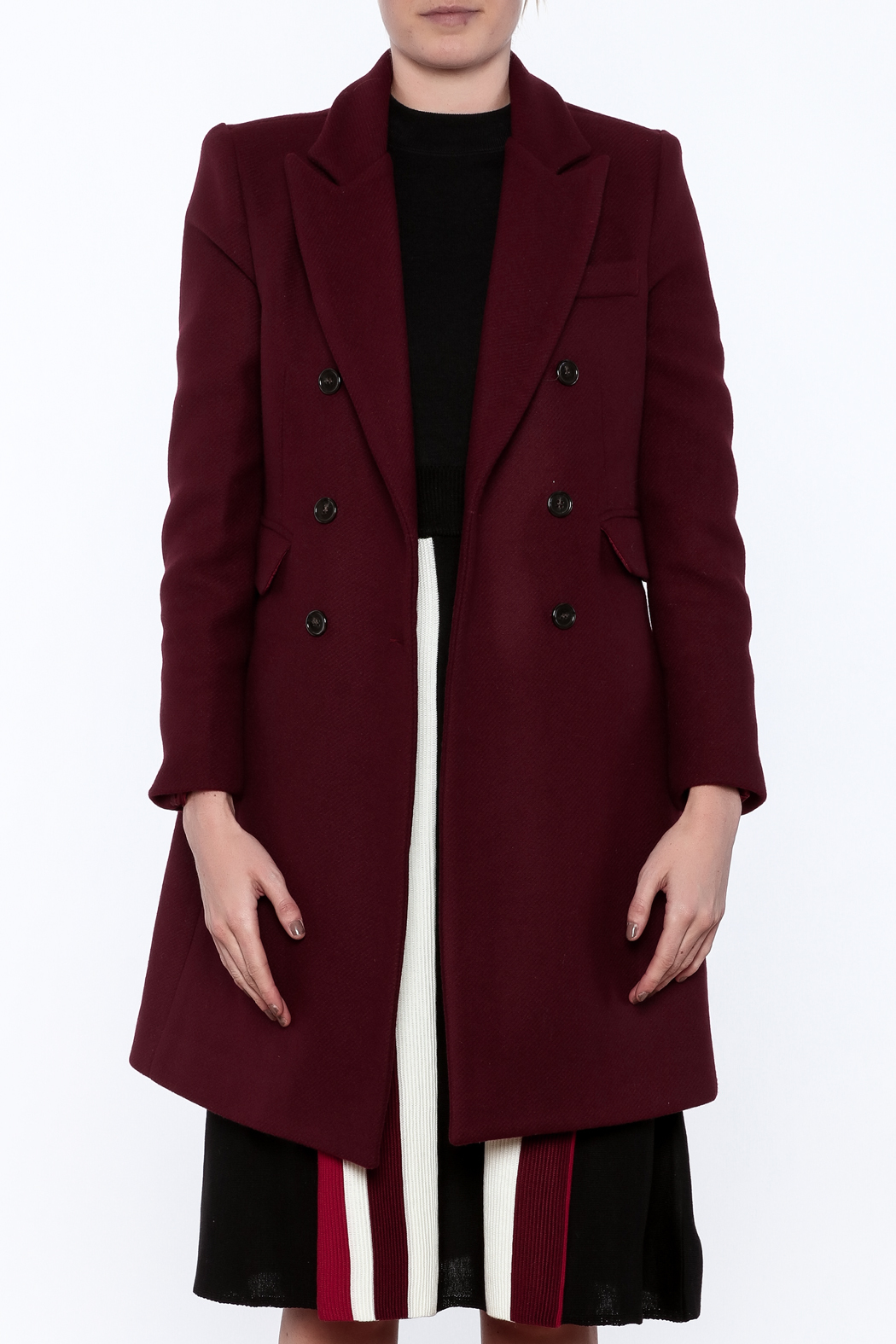 Pinkyotto Adele Coat - Side Cropped Image