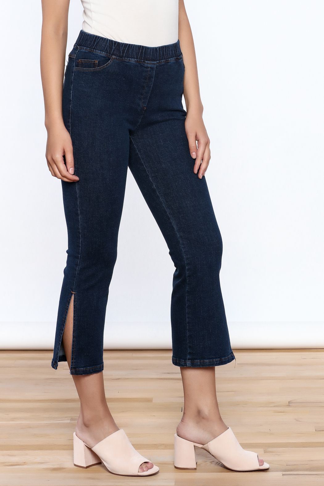 Pinkyotto Denim Bootcut Jeggings - Front Full Image