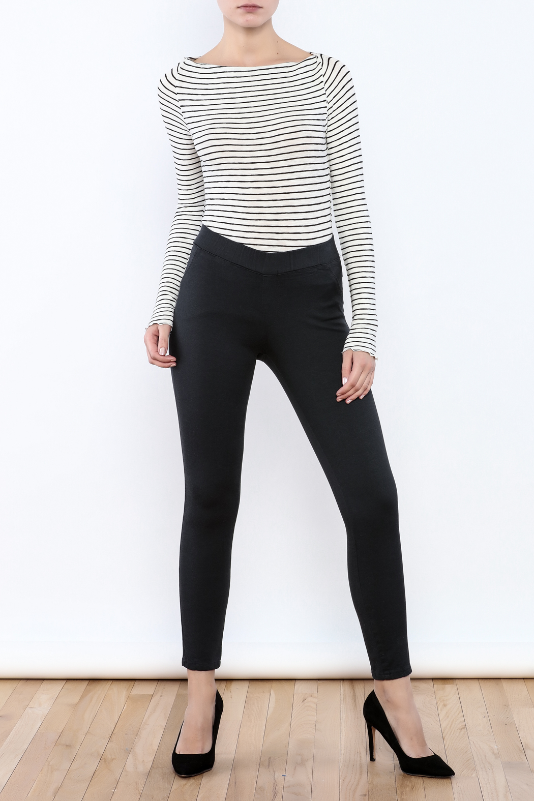 Pinkyotto Back Pockets Jegging - Front Full Image