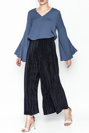 Pinkyotto Bell Sleeve Blouse - Side cropped