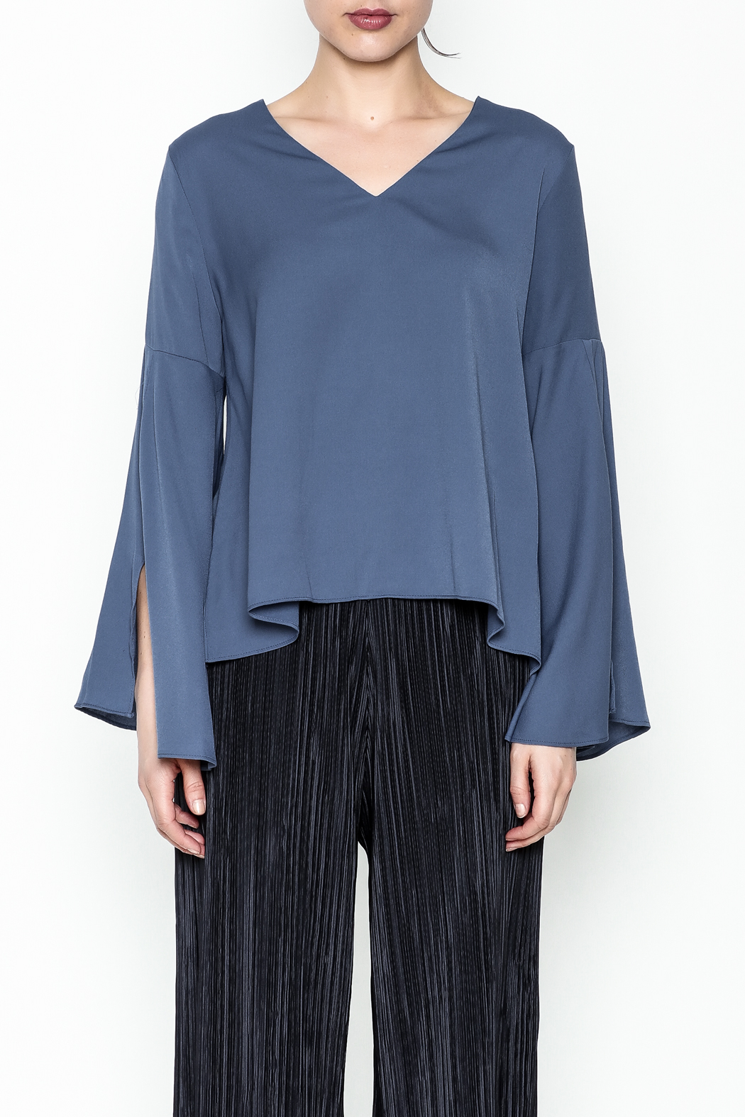 Pinkyotto Bell Sleeve Blouse - Front Full Image