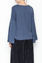 Pinkyotto Bell Sleeve Blouse - Back cropped