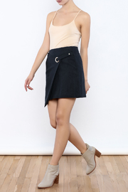 Pinkyotto Buckle Ring Skirt - Front full body