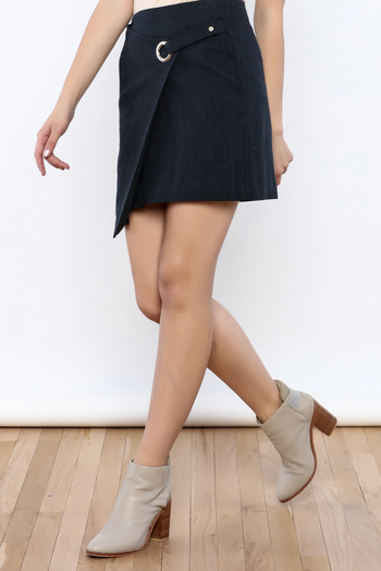 Shoptiques Product: Buckle Ring Skirt - main
