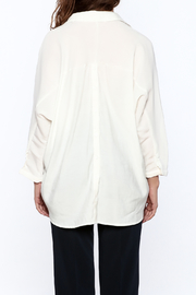 Pinkyotto White Long Top - Back cropped