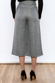 Pinkyotto Button Over Culottes - Back cropped