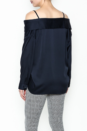 Pinkyotto Celine Button Up Top - Back cropped