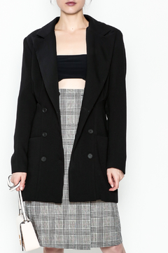 Pinkyotto Cinched Waist 80's Jacket - Product List Image