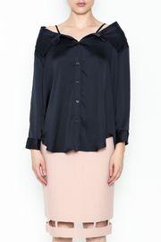 Pinkyotto Button Down Top - Front full body