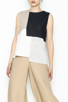 Shoptiques Product: Colorblock Sleeveless Top