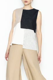 Pinkyotto Colorblock Sleeveless Top - Product Mini Image